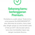 cara daftar spotify premium