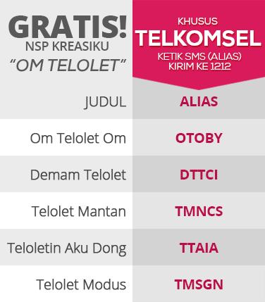 NSP-kreasiku-Om-Telolet-Telkomsel-5-free-bolehmobile | Boleh