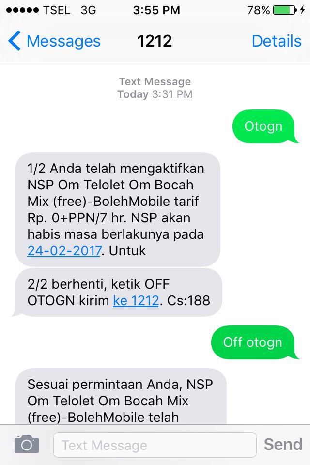 nsp-gratis-bolehmobile-telkomsel-screenshot | Boleh